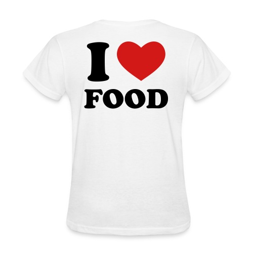 I Heart Food! - Women's T-Shirt
