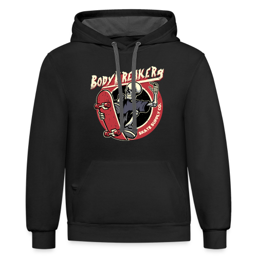 BodyBreakers Skate Supply Co - Contrast Hoodie