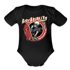BodyBreakers Skate Supply Co - Short Sleeve Baby Bodysuit