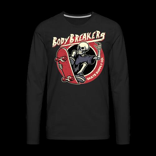 BodyBreakers Skate Supply Co - Men's Premium Long Sleeve T-Shirt