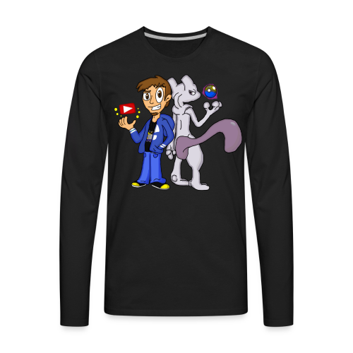 Nerdy Duo - Men's Premium Long Sleeve T-Shirt