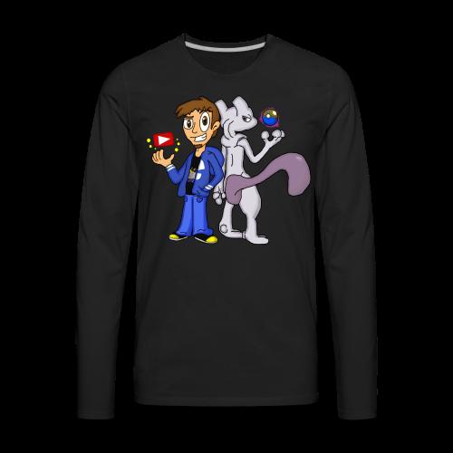 Nerdy Duo - Men's Premium Long Sleeve T-Shirt