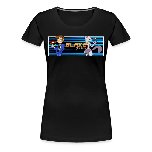 Blake (The Nerd) Official - Women's Premium T-Shirt