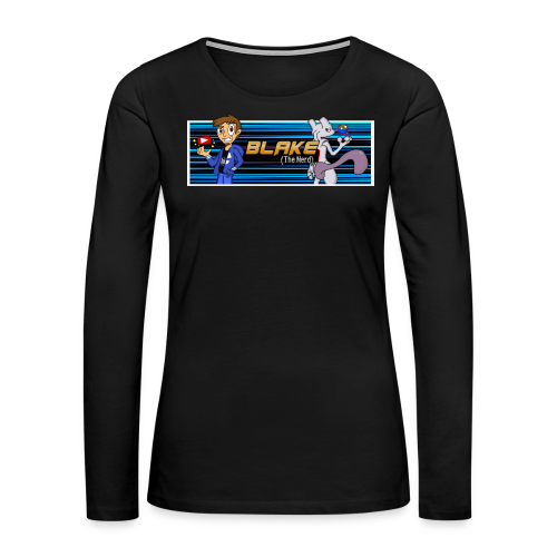 Blake (The Nerd) Official - Women's Premium Long Sleeve T-Shirt