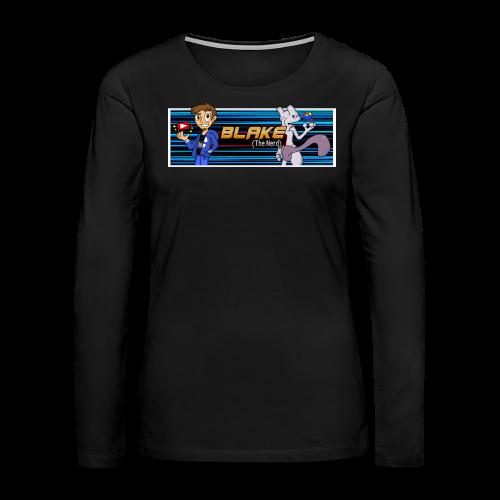 Blake (The Nerd) Official - Women's Premium Long Sleeve T-Shirt