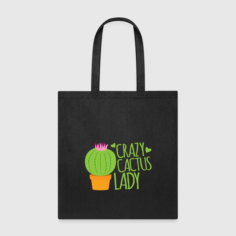Crazy cactus lady  Bags & backpacks - Tote Bag
