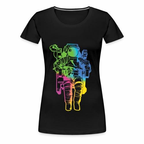 Spaceman - Women's Premium T-Shirt
