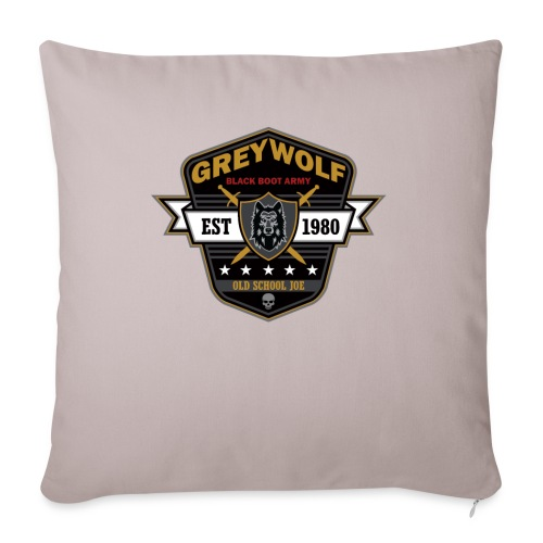 Grey Wolves Premium Tee Shirt - Throw Pillow Cover