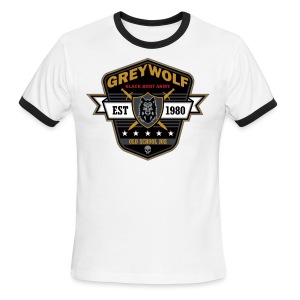 Grey Wolves Premium Tee Shirt - Men's Ringer T-Shirt