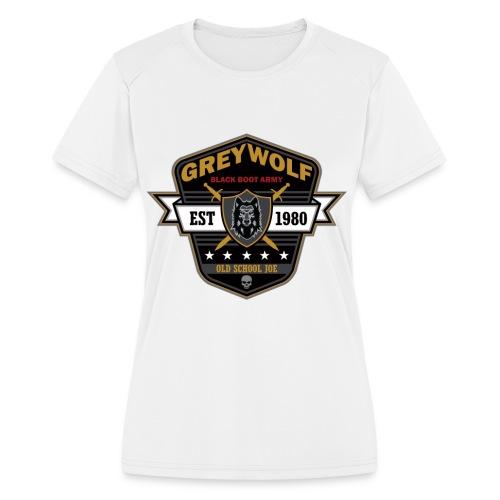 Grey Wolves Premium Tee Shirt - Women's Moisture Wicking Performance T-Shirt