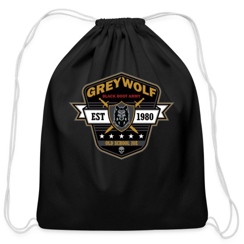 Grey Wolves Premium Tee Shirt - Cotton Drawstring Bag