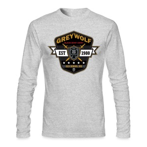 Grey Wolves Premium Tee Shirt - Men's Long Sleeve T-Shirt by Next Level