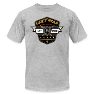 Grey Wolves Premium Tee Shirt - Men's T-Shirt by American Apparel
