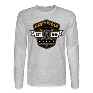Grey Wolves Premium Tee Shirt - Men's Long Sleeve T-Shirt