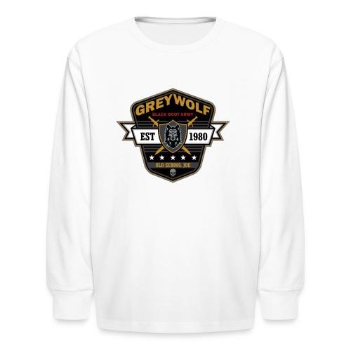Grey Wolves Premium Tee Shirt - Kids' Long Sleeve T-Shirt