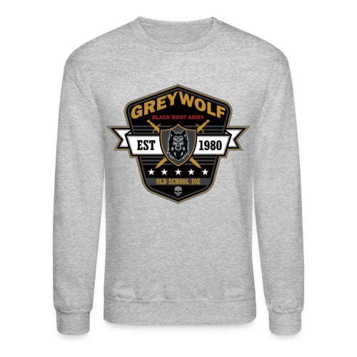 Grey Wolves Premium Tee Shirt - Crewneck Sweatshirt