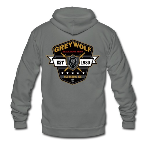 Grey Wolves Premium Tee Shirt - Unisex Fleece Zip Hoodie