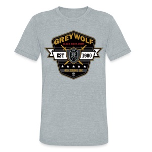 Grey Wolves Premium Tee Shirt - Unisex Tri-Blend T-Shirt by American Apparel
