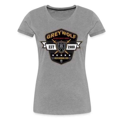 Grey Wolves Premium Tee Shirt - Women's Premium T-Shirt