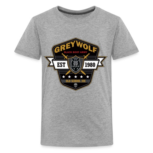 Grey Wolves Premium Tee Shirt - Kids' Premium T-Shirt
