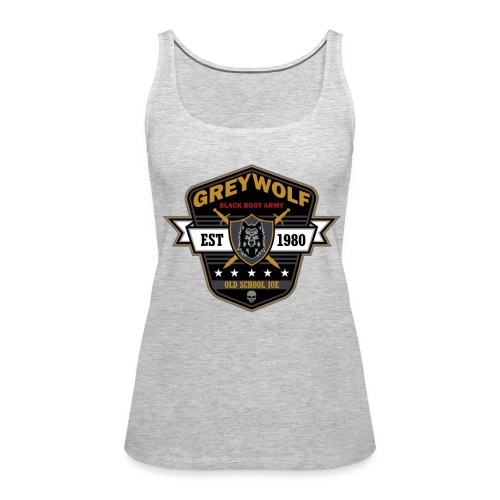 Grey Wolves Premium Tee Shirt - Women's Premium Tank Top