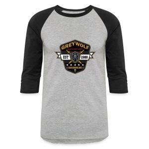 Grey Wolves Premium Tee Shirt - Baseball T-Shirt