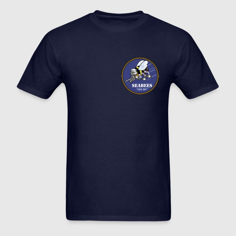 US Navy Seabee men's shirt - Men's T-Shirt