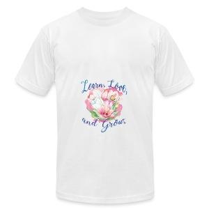 Beautiful Inspirational Flower Message - Men's Fine Jersey T-Shirt