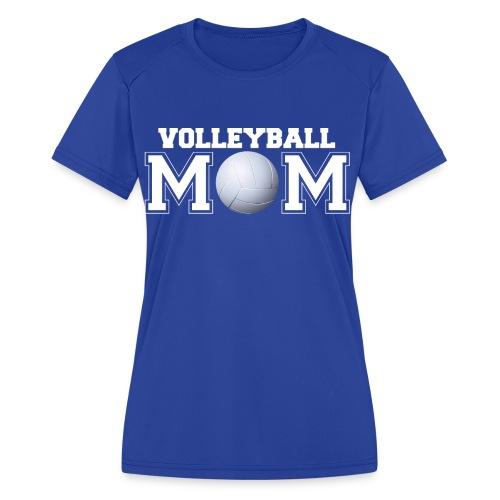 Volleyball Mom shirt - Women's Moisture Wicking Performance T-Shirt