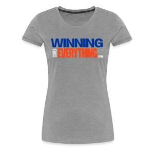 WCE Logo Blue & Orange - Women's Premium T-Shirt