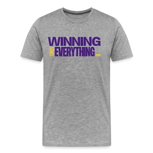 WCE Logo Purple & Gold  - Men's Premium T-Shirt