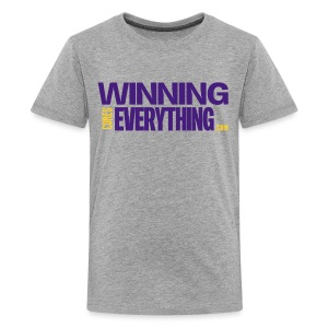 WCE Logo Purple & Gold  - Kids' Premium T-Shirt