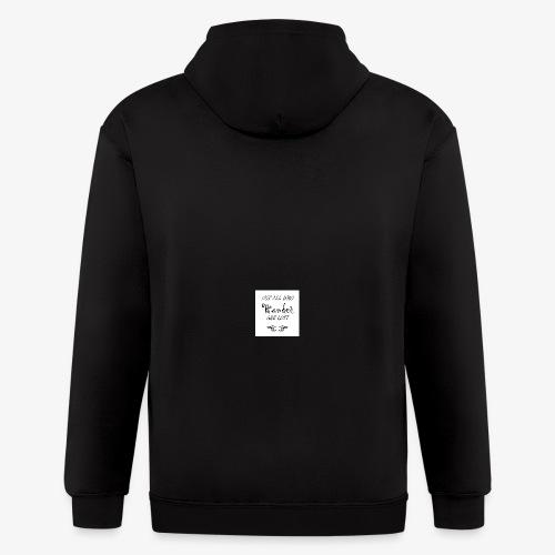 Wander Lost Mug - Men's Zip Hoodie