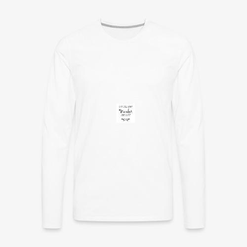 Wander Lost Mug - Men's Premium Long Sleeve T-Shirt