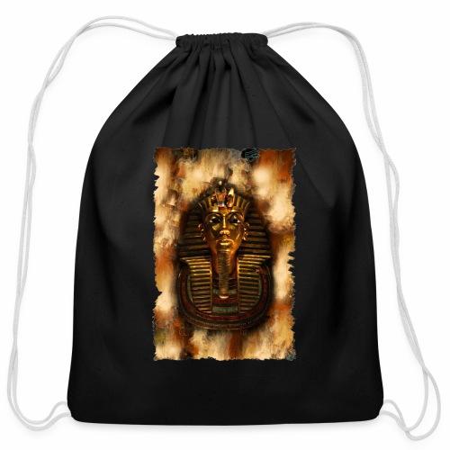 Tutankhmun's Vision Hoodie - Cotton Drawstring Bag