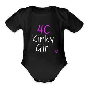 Natural Kinky 4C Hairstyles T- shirt by Stephanie Lahart #2 - Short Sleeve Baby Bodysuit