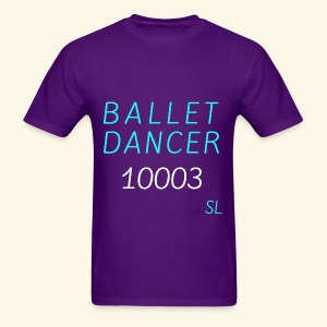 New York, NY 10003 Ballet Dancer T-shirt by Stephanie Lahart  - Men's T-Shirt