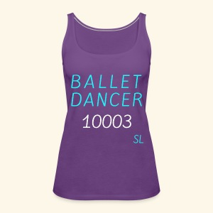 New York, NY 10003 Ballet Dancer T-shirt by Stephanie Lahart  - Women's Premium Tank Top