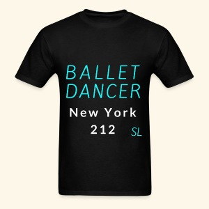 New York, NY 212 Ballet Dancer T-shirt by Stephanie Lahart  - Men's T-Shirt