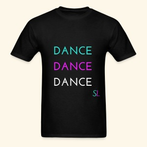 Colorful, Cool, and Stylish DANCE T-shirt for DANCERS by Stephanie Lahart.  - Men's T-Shirt