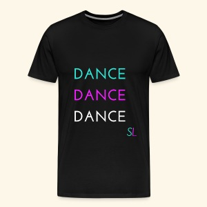 Colorful, Cool, and Stylish DANCE T-shirt for DANCERS by Stephanie Lahart.  - Men's Premium T-Shirt