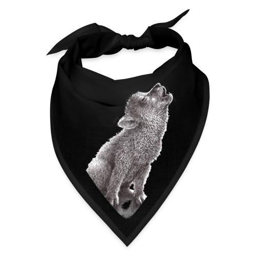 Funny Howling Wolf - Bandana