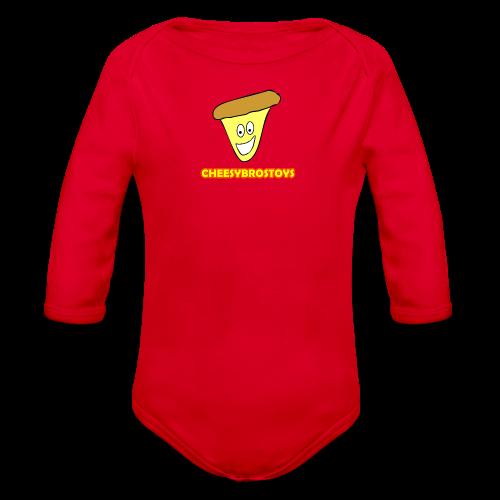 CheesyBrosToys Kid's American Apparel Shirt - Organic Long Sleeve Baby Bodysuit