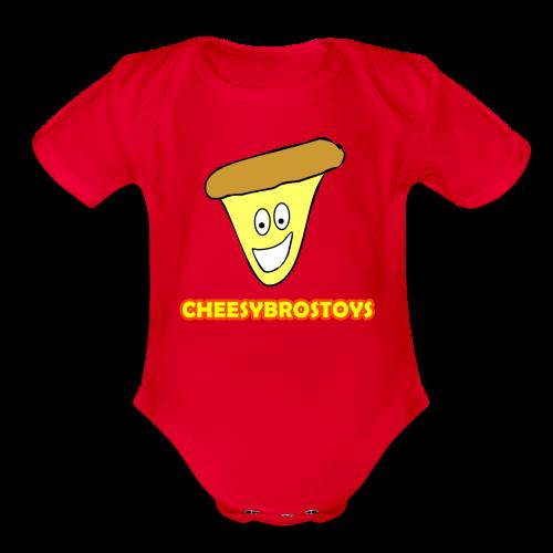 CheesyBrosToys Kid's American Apparel Shirt - Organic Short Sleeve Baby Bodysuit
