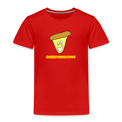 CheesyBrosToys Kid's American Apparel Shirt - Toddler Premium T-Shirt