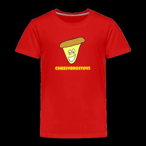 CheesyBrosToys Kid's American Apparel Shirt - Toddler Premium T-Shirt