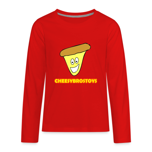 CheesyBrosToys Kid's American Apparel Shirt - Kids' Premium Long Sleeve T-Shirt