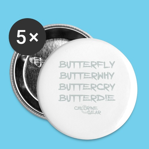 Kid's American Apparel Tee - Buttons large 2.2'' (5-pack)