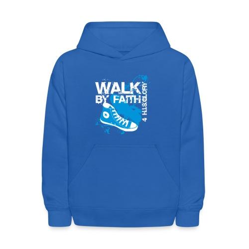 4 H.I.S.Glory Walk By Faith Kids T-Shirt - Kids' Hoodie