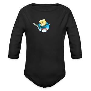 BlockBoy Swordsman - Long Sleeve Baby Bodysuit